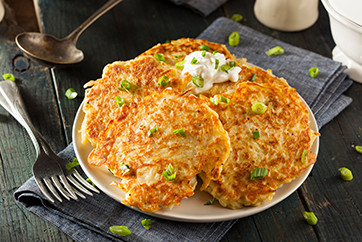 Boxty Irish Potato Pancakes