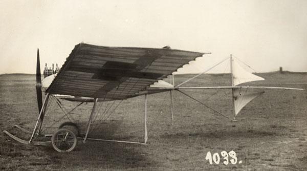 original fokker spin plane