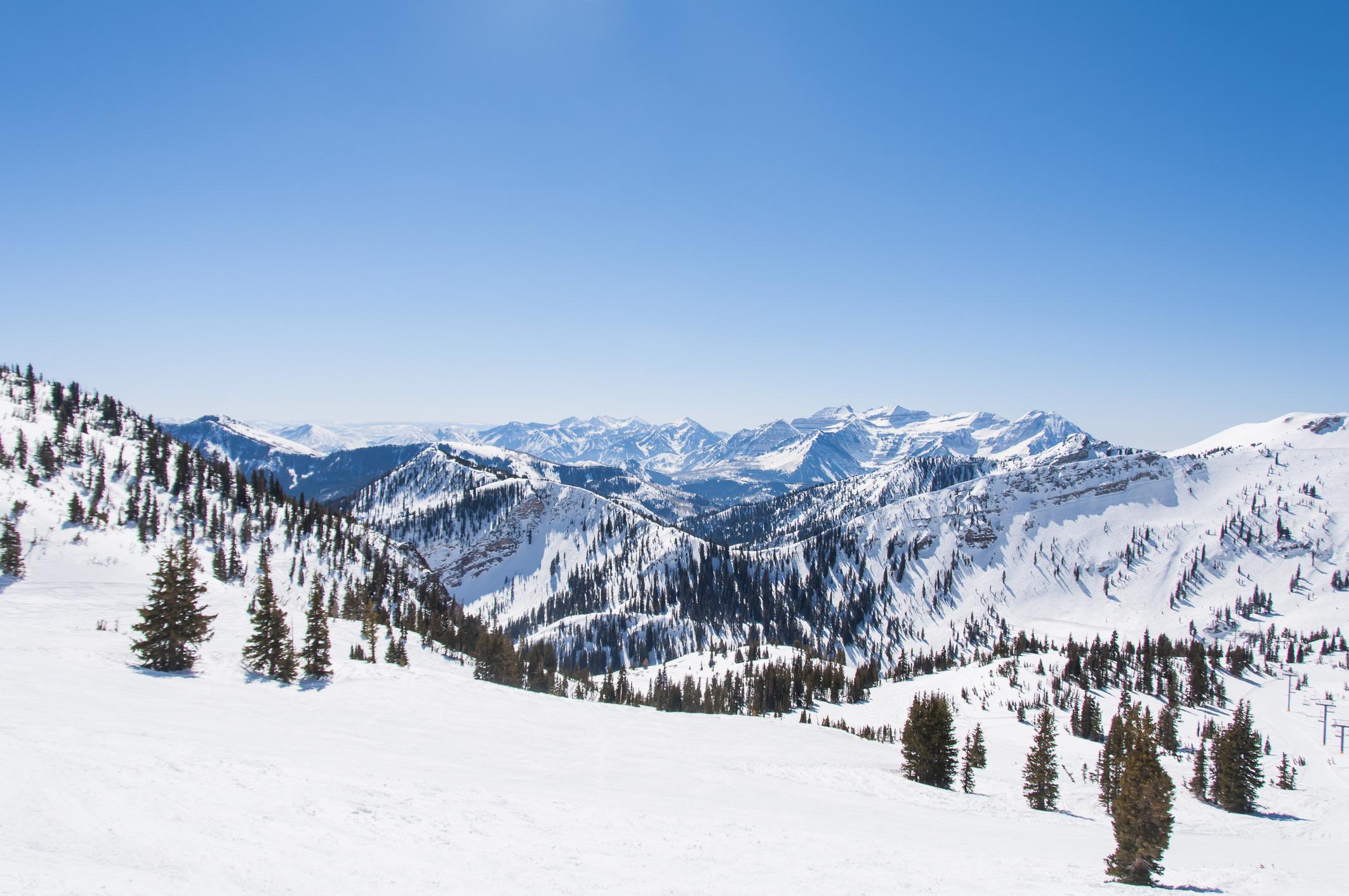 Snow on Hidden Peak