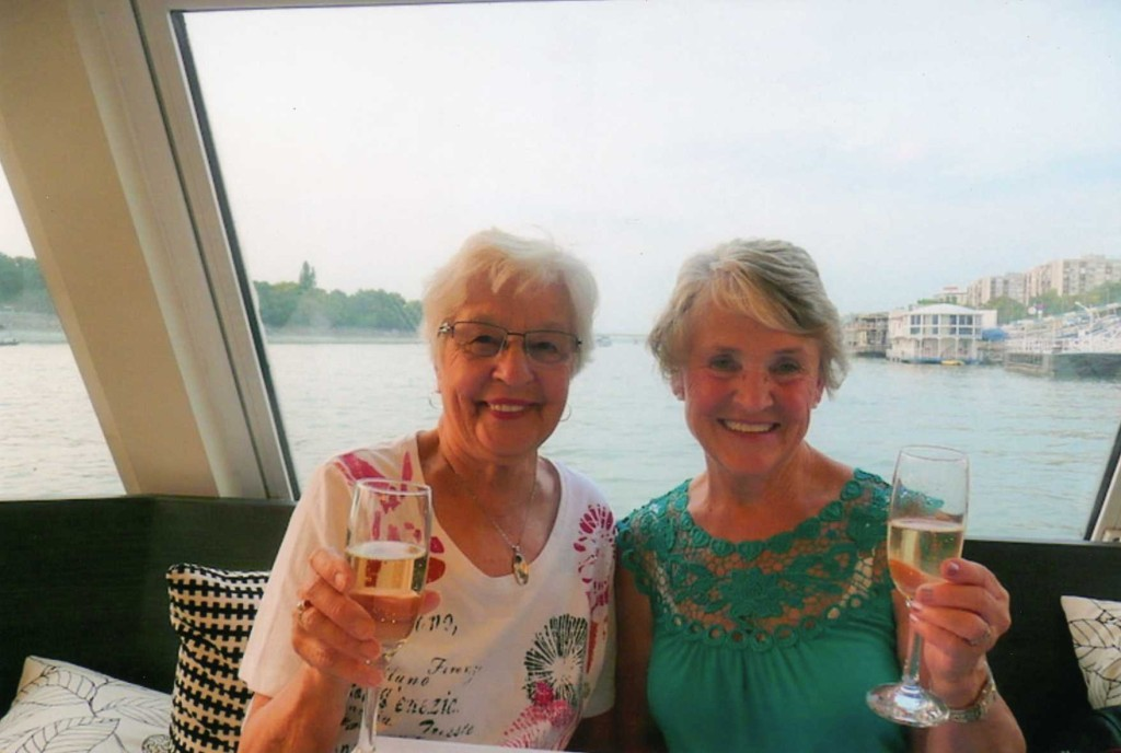 Jeanne and Charlotte Go Solo trip cheers