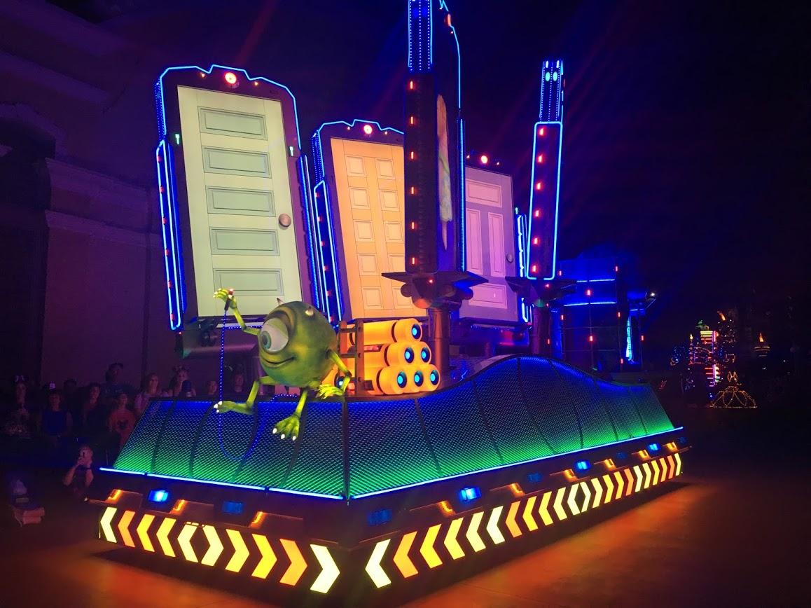 Pixar Pier's Paint the Night Parade