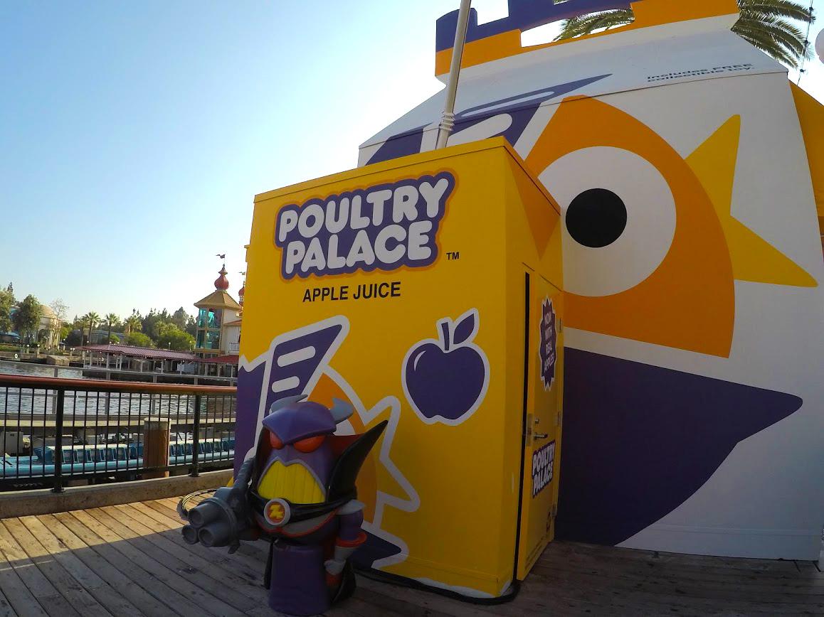 Pixar Pier Poultry Palace