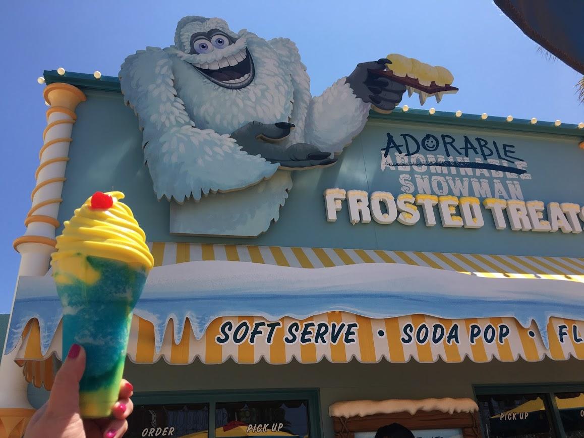 Pixar pier Adorable Snowman