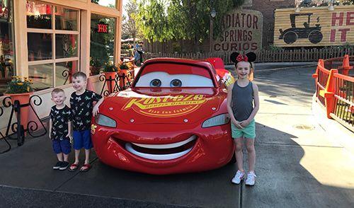 Disney Christmas Lightning McQueen