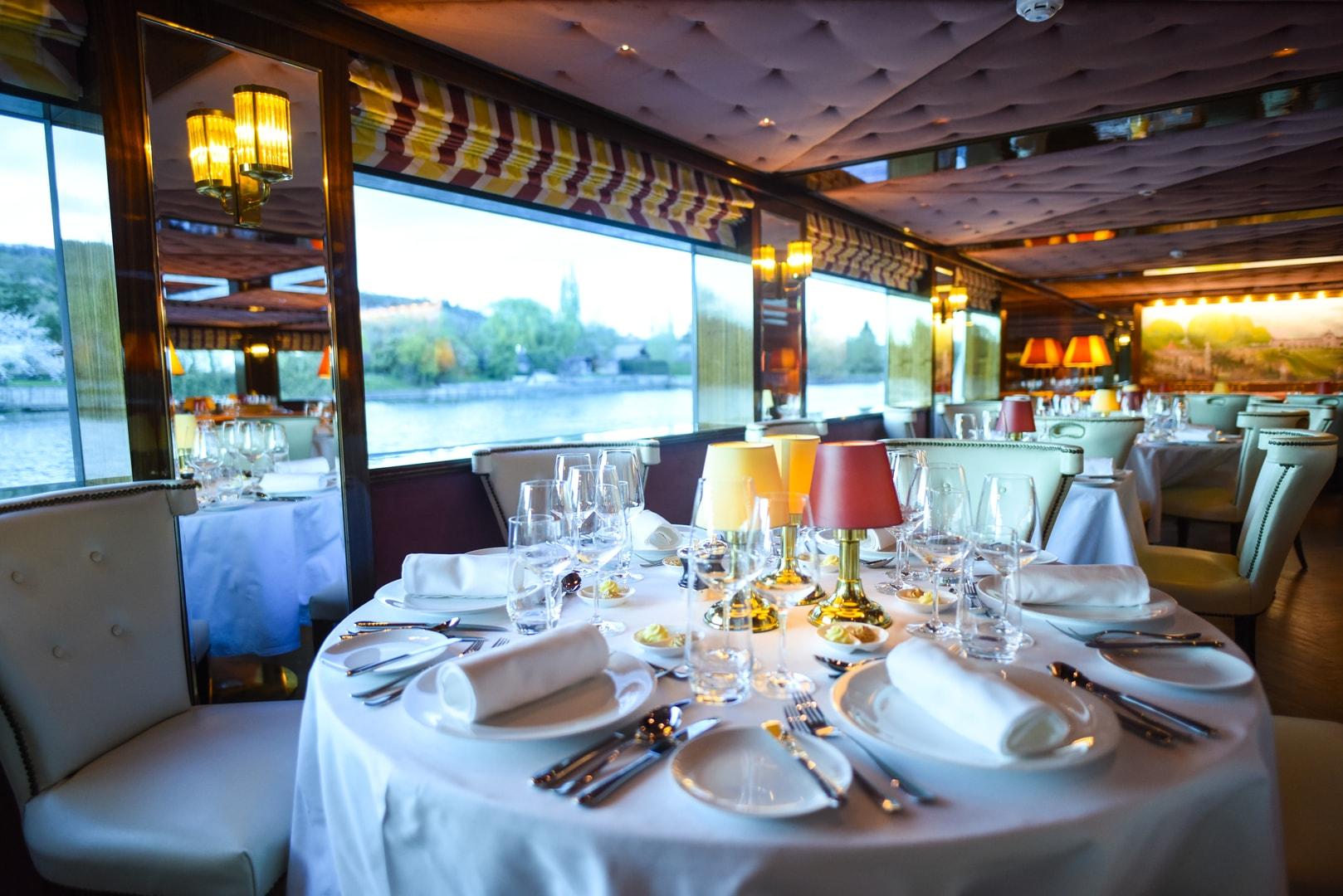 River Cruise ship interior