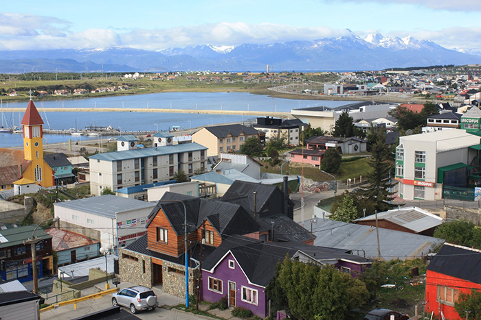 mountain view from Ushuaia