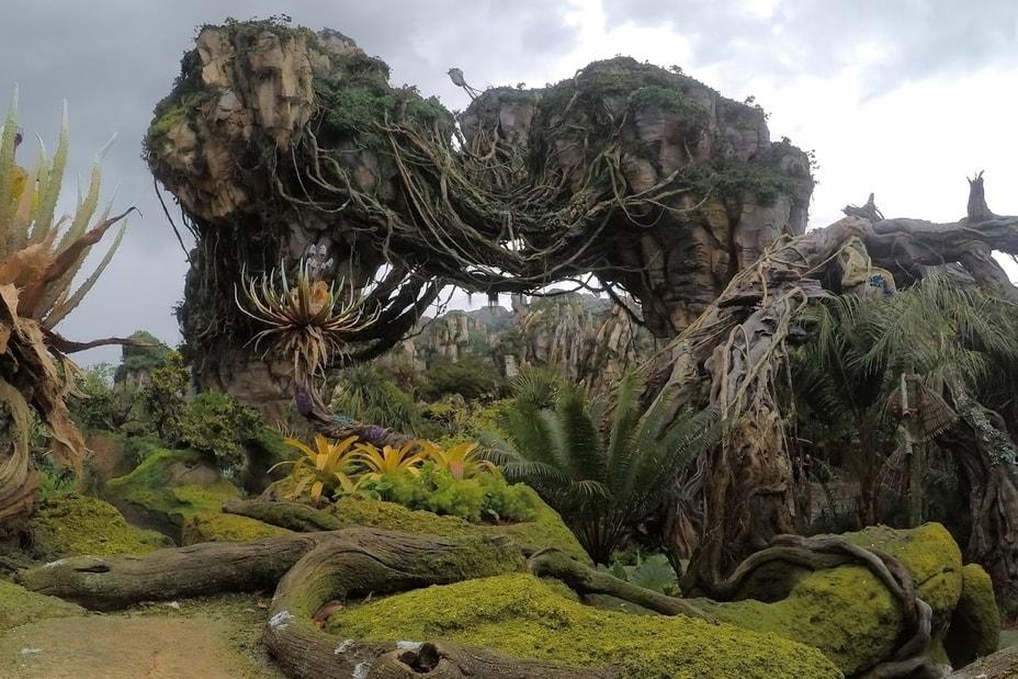 Pandora theme park floating mountains Guides