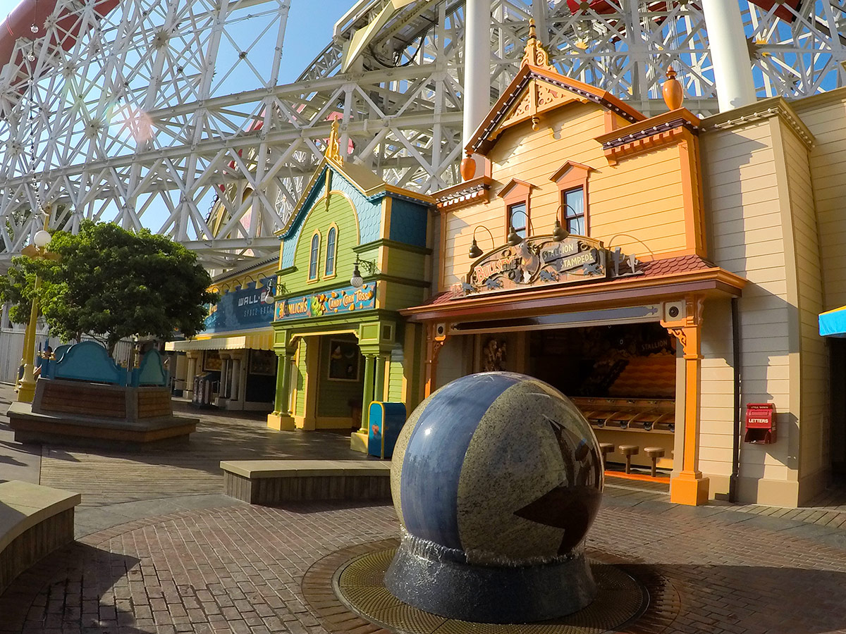 Pixar Pier Midway
