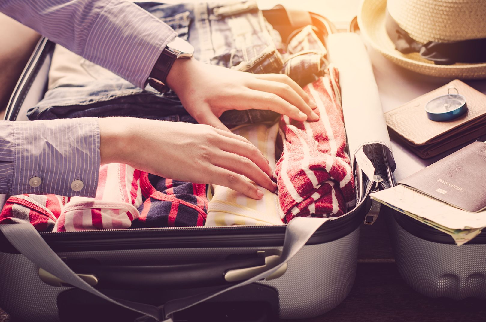 Packing tips for a trip