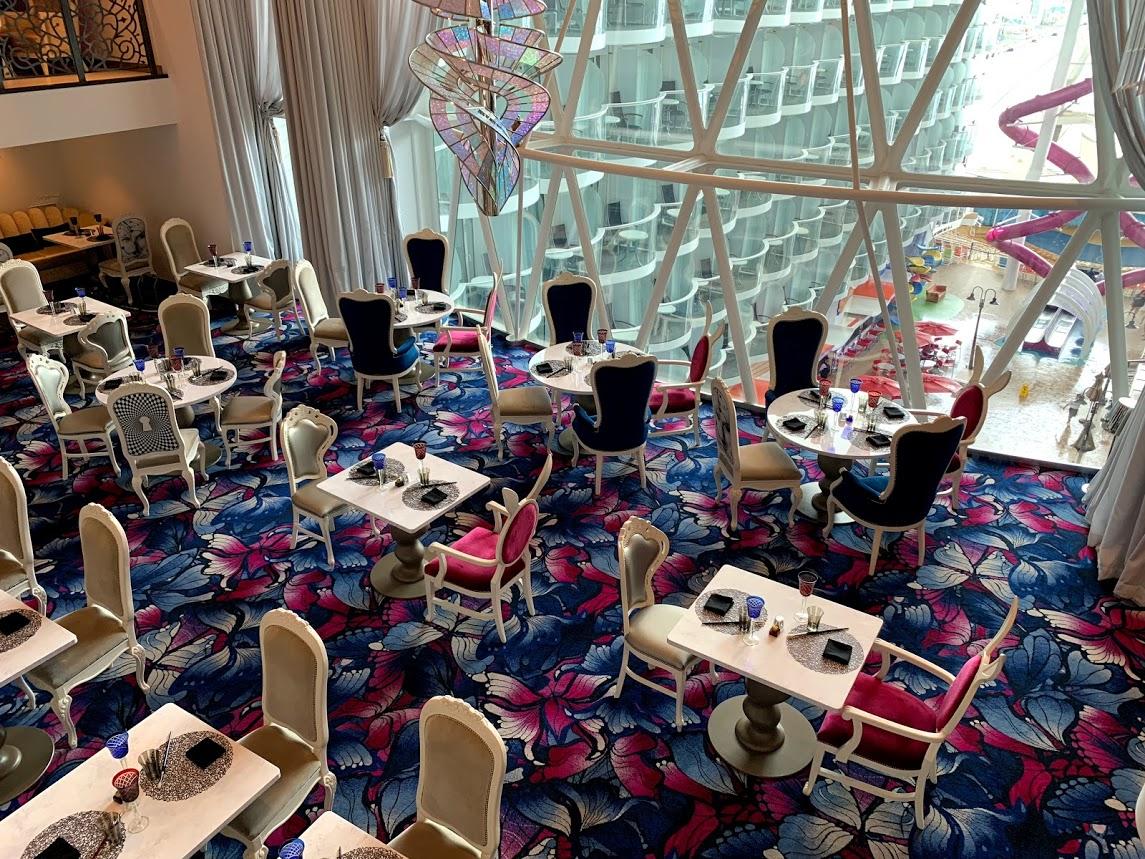 Best restaurants on Royal Caribbean's Symphony of the Seas