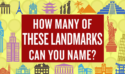 How Many Landmarks Can You Name