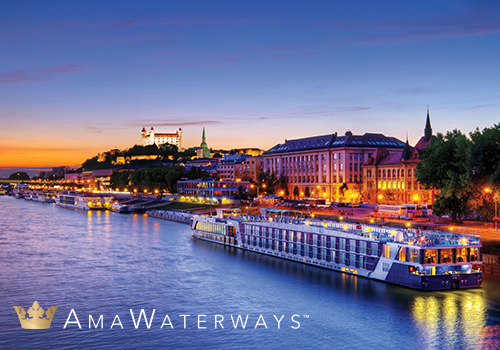 Week 2 Prize PARIS & NORMANDY RIVER CRUISE from Ama Waterways