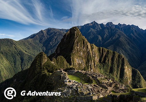 Week 3 Prize South America & Machu Picchu Adventure G Adventures