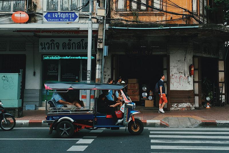 Tuk Tuk near Bankok
