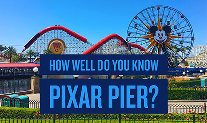 How Well Do You Know Pixar Pier?