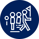 Escorted groups icon