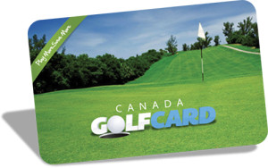 Golf card giveaway