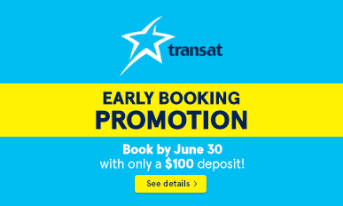 Transat Early Booking Promotion