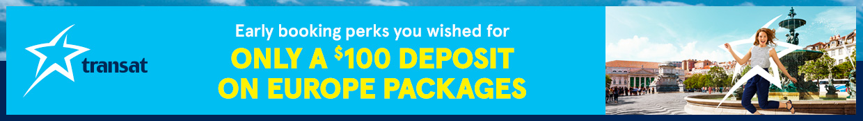 Transat Europe Early Booking Offer