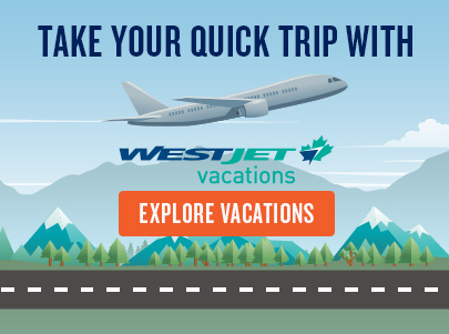WestJet Vacations Promo