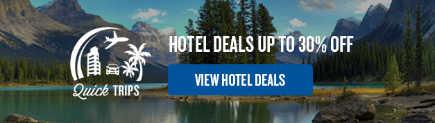 Quick Trips: Hotel deals up to 30% off
