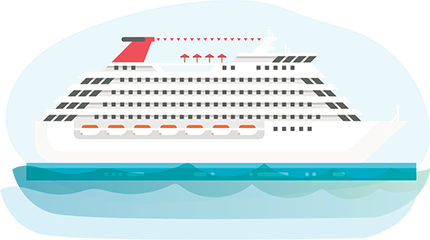 Disney Cruise Illustration