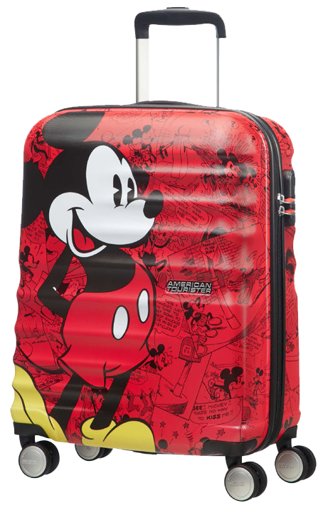 Disney Wavebreaker spinner carry-on luggage from American Tourister