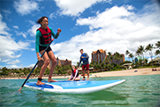 Disney Aulani Standup Paddle Boarding