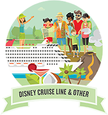 Disney Cruise Line Illustration