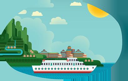 Viking River Intro Icon